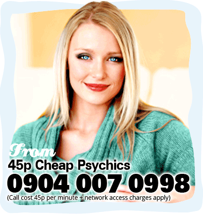 45p Cheap Psychics